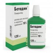 Betadine (Povidone-iodine) solution 10% 120ml