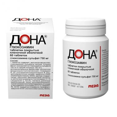 Dona, tablets 750 mg, 60 pcs.