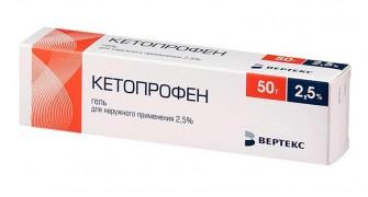 Ketoprofen Gel 2.5% 50 ml