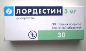 Lordestin (Desloratadine) 5mg N30