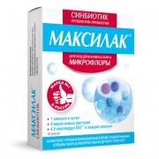 Maxilac synbiotic capsules, 10 pcs
