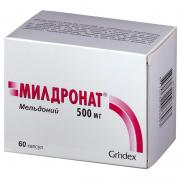 Mildronate (Meldonium)  500mg N60
