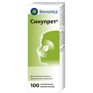 Sinupret drops 100ml