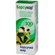 Barsucor 100 ml Badger fat - 100% Natural Product