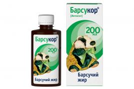 Barsucor 200 ml Badger fat - 100% Natural Product