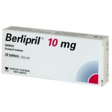 Berlipril 10mg N30