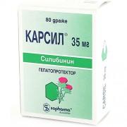 Carsil, Silymarin 35 mg N80
