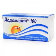 Iodomarin 100, 0,1 mg  N100 tab (treatment and prevention of diseases of the thyroid gland)
