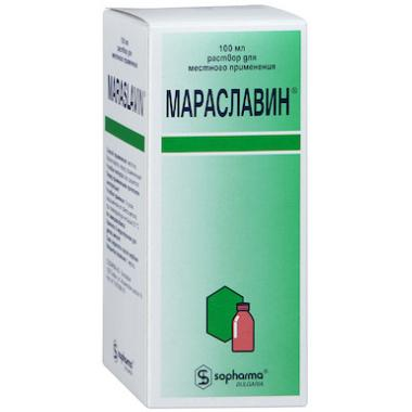 Maraslavin solution 100ml (paradentosis treatment)