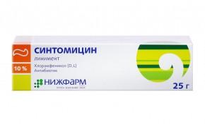 Sintomicin liniment 10% 25g